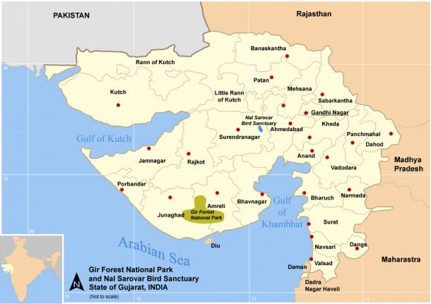 Map_Guj_Nat_Parks_Sanctuary