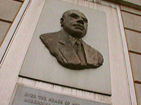 Howard Thurman bust