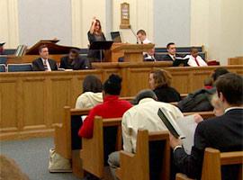 A Mormon church service in Philadelphia