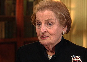 Former Secretary of State Madeleine Albright