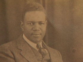 A young Rev. Taylor