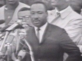Dr. King speaking