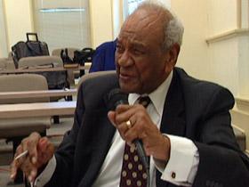 Rev. Taylor critiquing a student