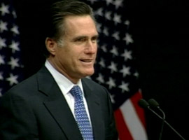 Mitt Romney delivered a speech addressing concerns about his Mormon faith during his 2008 presidential campaign