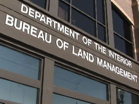 dept of interior bureau of land management