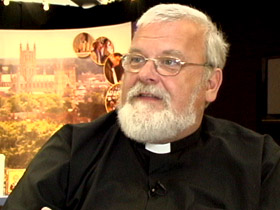 Canon Jim Rosenthal, founder, UK/USA St. Nicholas Society