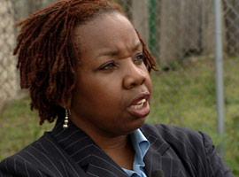 Charlene Wilson-Doffoney, a funeral director in Philadephia