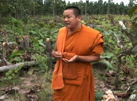 Senior monk Anek