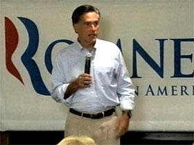 Mormon Republican candidate Mitt Romney