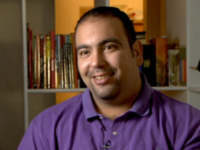 Mahmoud Salem, an Egyptian blogger, ran for election and lost in a district of Cairo