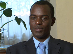Frank Mugisha, gay rights advocate in Uganda