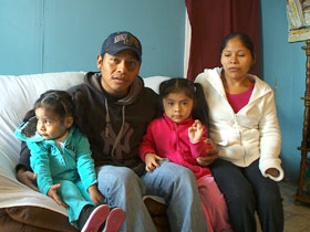 Darinal Sales and his family