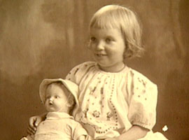 A young Madeleine L'Engle