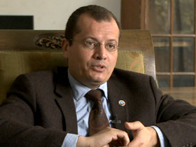 Tarek Shaalan is a founding member of the Noor Party, which favors the founding of a religious state in Egypt
