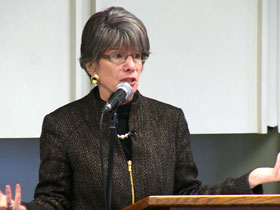 Prof. Amy-Jill Levine, co-editor of The Jewish Annotated New Testament