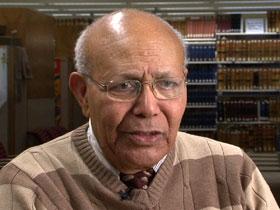 Religious historian Getachew Haile