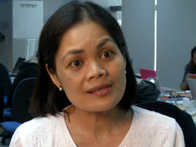 "Glenda Gloria, author of ""Under the Crescent Moon: Rebellion in Mindanao"""