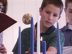 Boy Candles