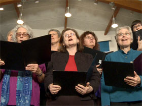 Singing Quaker Women Plus Other Faithful Friends