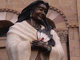 Santa Fe Statue