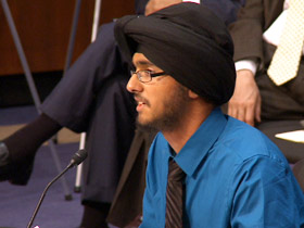 Harpreet Singh Saini testifying before US Congress