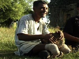 injured villager