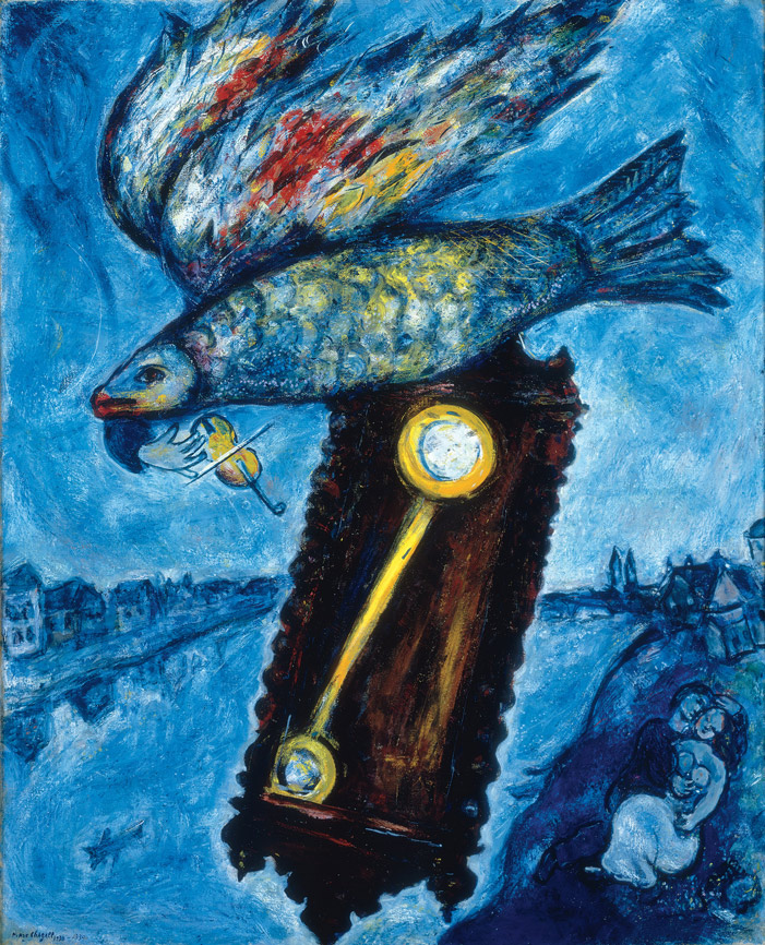 Marc Chagall, Time is a River without Banks, 1930-1939, oil on canvas