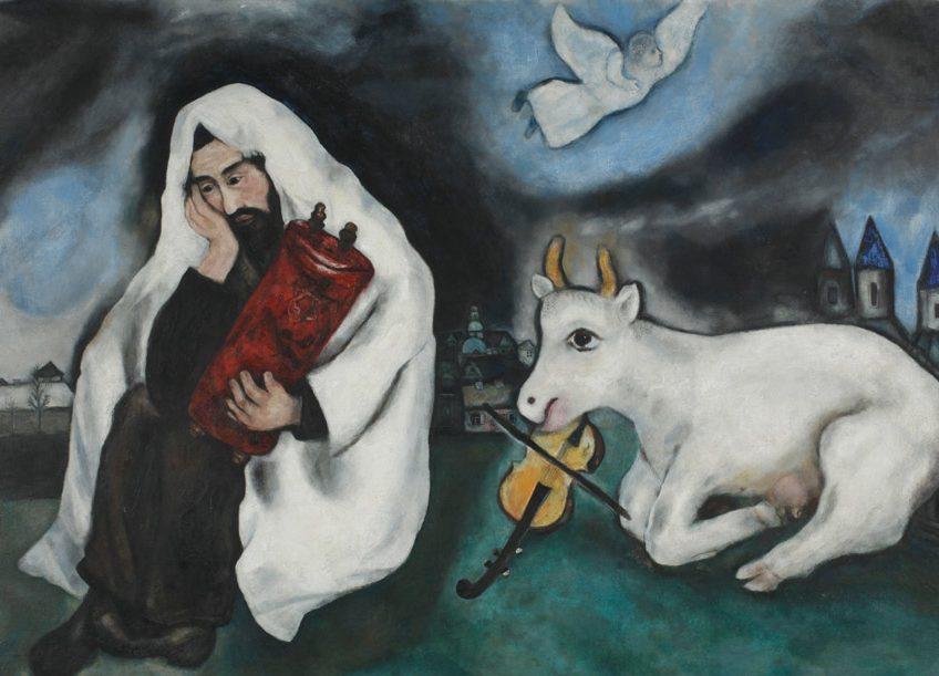 Marc Chagall, Solitude, 1933, oil on canvas
