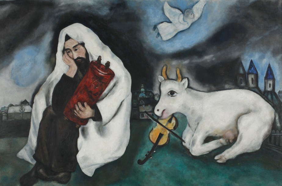 Marc Chagall, Solitude, 1933, oil on canvas