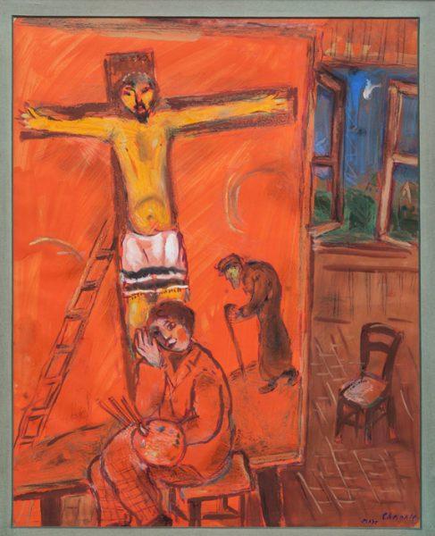 Chagall's Jewish Jesus | September 20, 2013 | Religion ... Chagall Crucifixion