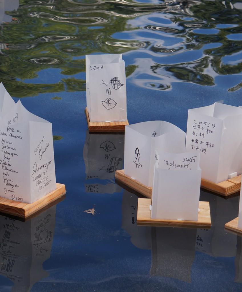 Shinnyo Lantern Floating for Peace