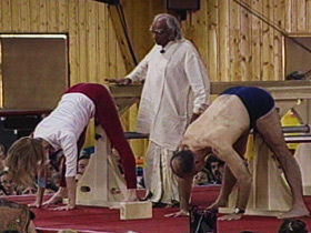 yoga practicers