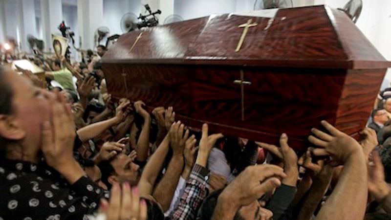 Christ Church Shooting Hd: Egypt: Coptic Christian Church Shooting Kills Four