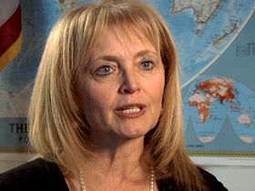 Katrina Lantos Swett is chair of the US Commission on International Religious Freedom