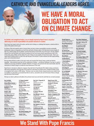 faith leaders affirm encyclical letter 320