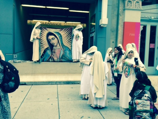 nuns and virgin of guadelupe
