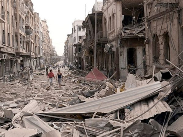 Syrian state media reports civilians have begun to leave besieged Aleppo